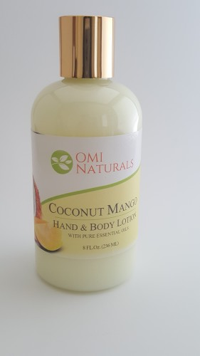 Coconut Mango Hand and Body Lotion